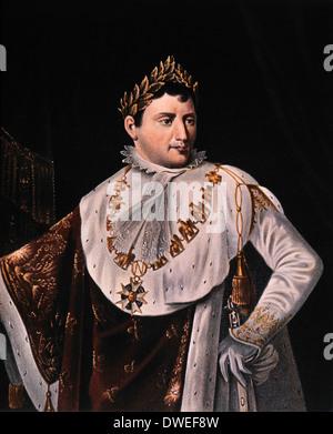 Napoleon Bonaparte (1769-1821), Kaiser von Frankreich 1804-1814, Portrait - Stockfoto