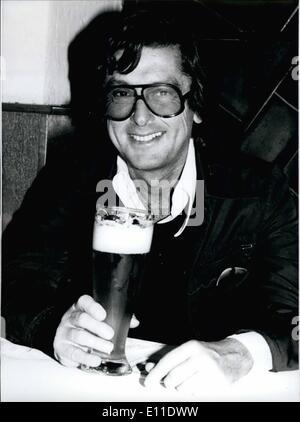 Sept. 09, 1977 - ROBERT EVANS für A besuchen IN München/WEST Deutschland eines der erfolgreichsten Produzenten der - Stockfoto