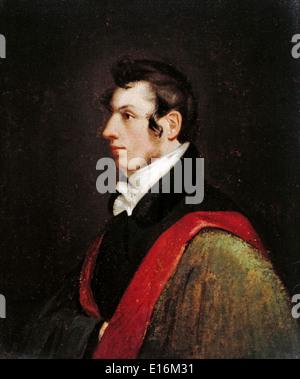 Samuel Morse (Morse-Code-Erfinder), Selbstporträt, 1812 - Stockfoto