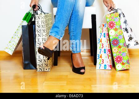 Einkauf, shopping, Warenkorb, shopping-Tour - Stockfoto