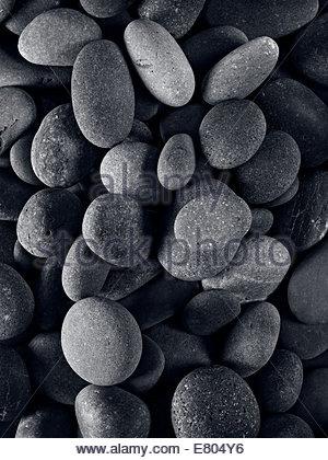Fluss oder Strand Stein, perfekt für Hintergründe - Stockfoto