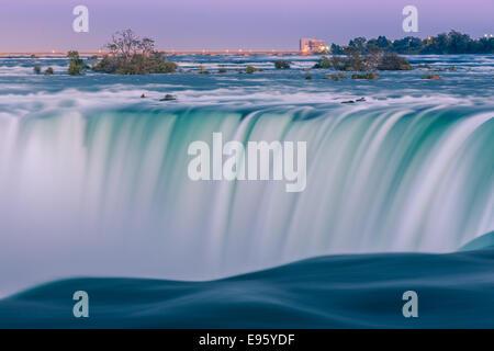 Horseshoe Falls, Teil von Niagara Falls, Ontario, Kanada. - Stockfoto