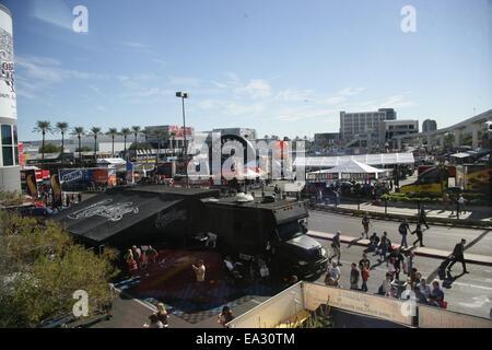 Las Vegas, NV, USA. 5. November 2014. Atmosphäre in Anwesenheit für die 2014 SEMA Show - Mi, Las Vegas Convention - Stockfoto