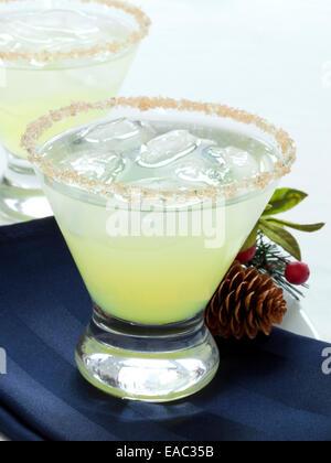Zitrus Urlaub Cocktail - Stockfoto