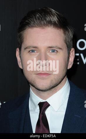 New York, USA. 6. Januar 2015. Allen Leech im Ankunftsbereich für National Board Review Awards Gala 2015, Cipriani - Stockfoto