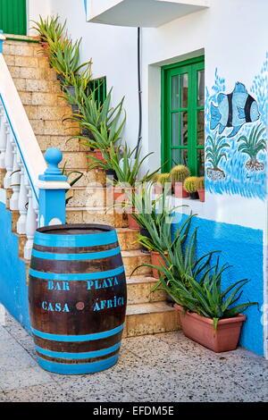Afrika Restaurant Casa, Taganana, Teneriffa, Kanarische Inseln, Spanien - Stockfoto