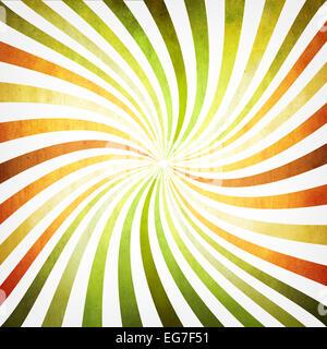 Hintergrund mit bunten verdrehten Strahlen - Stockfoto