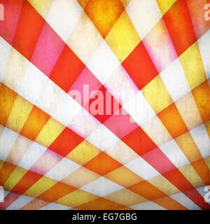 Grunge Hintergrund mit bunten gekreuzten Strahlen - Stockfoto