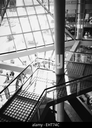 Architektur im Inneren der Galerie in Baltimore, Maryland. - Stockfoto