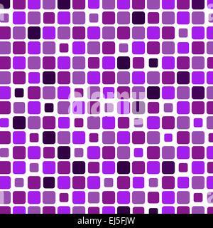 Mosaik mit quadratischen violettem Hintergrund, Vektor-illustration - Stockfoto