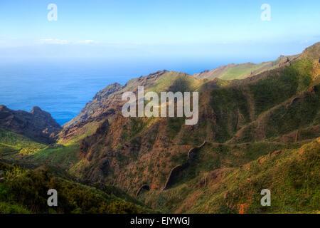 Teneriffa, Masca, Teno-Massivs, Kanarische Inseln, Spanien - Stockfoto