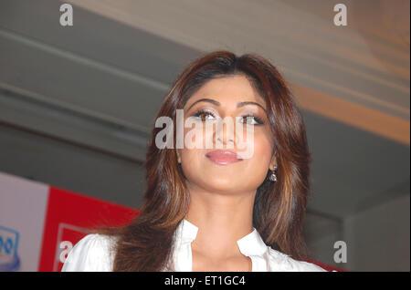 Schauspielerin Shilpa Shetty; Indien nicht Herr - Stockfoto