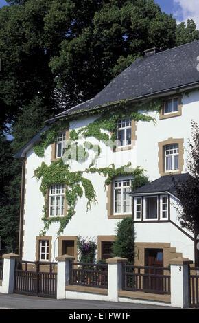 BEL, Belgien, Eastbelgium, Haus in Buetgenbach.  BEL, Belgien, Ostbelgien, Haus in Buetgenbach. - Stockfoto