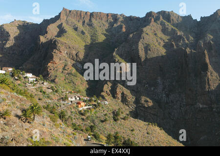 Teno-Massivs, Masca, Teneriffa, Kanarische Inseln, Spanien - Stockfoto