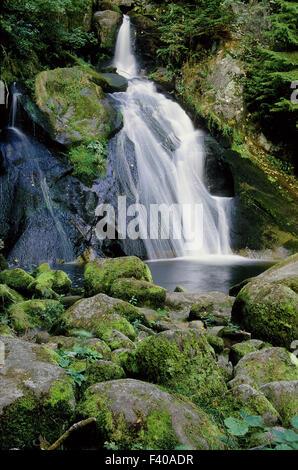 Wasserfall, Triberg, Schwarzwald, Deutschland - Stockfoto