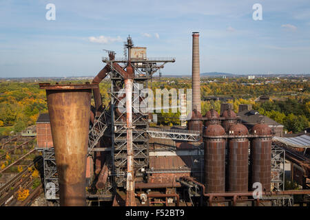 industriegebiet in duisburg stockfoto bild 49147125 alamy. Black Bedroom Furniture Sets. Home Design Ideas