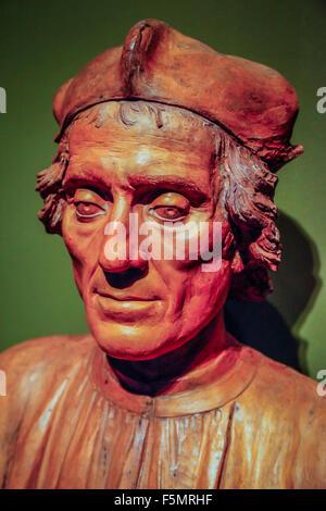 Skulptur aus Renaissance und Barock Künstler in den Galerien von beeindruckenden Ringling Museum of Art in Sarasota, - Stockfoto