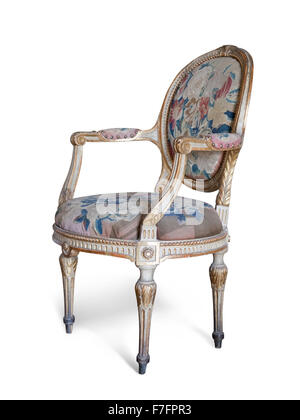 ein roter und goldener thron stuhl auf wei em hintergrund stockfoto bild 22353706 alamy. Black Bedroom Furniture Sets. Home Design Ideas