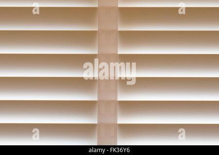 Geschlossene Jalousien Hintergrund - Stockfoto