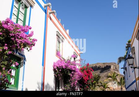 Puerto de Mogán, Gran Canaria, Kanarische Inseln, Spanien - Stockfoto