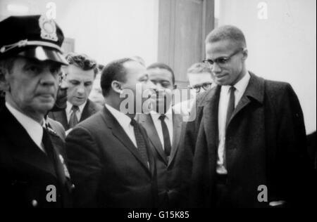 Martin Luther King, Jr. (1929-1968) war ein amerikanischer Pfarrer, Aktivist und vorstehender Führer in der African - Stockfoto