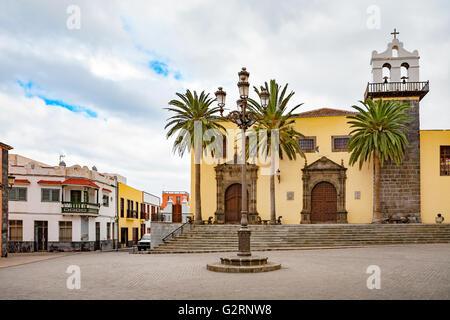 Platz von Garachico. Teneriffa, Kanarische Inseln, Spanien - Stockfoto