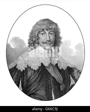 William Cavendish, 1. Herzog von Newcastle upon Tyne, 1592-1676, ein englischer Universalgelehrter und Aristokrat - Stockfoto