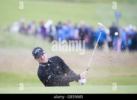 Golf - Scottish Open - Tag zwei - Gullane Golfclub - Stockfoto