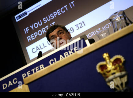 """""""Sprengsatz"""" fand im Zentrum von London - Stockfoto"""