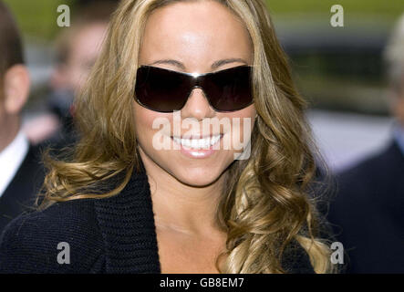 Mariah Carey Sichtung - London - Stockfoto