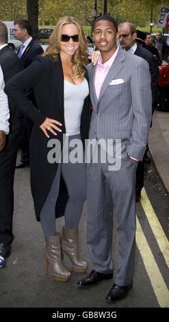Mariah Carey Sichtung - London - Stockfoto