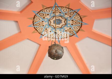Runde Lampe im arabischen Stil - Stockfoto