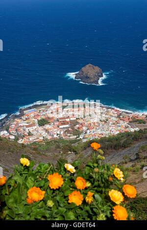 Garachico, Teneriffa, Kanarische Inseln, Spanien - Stockfoto