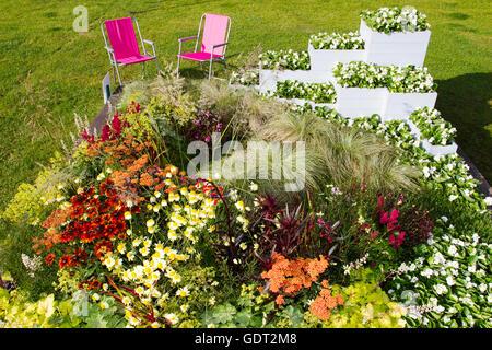 Tatton Park, Knutsford, UK. 21. Juli 2016. Die RHS Tatton Park Flower Show, im Norden größten Garten-Veranstaltung - Stockfoto