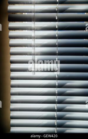 Abstrakte Foto des Sonnenlichts auf Horizontal-Jalousien - Stockfoto