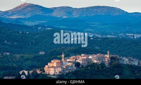 Seggiano, Provinz Grosseto, Toskana, Italien - Stockfoto