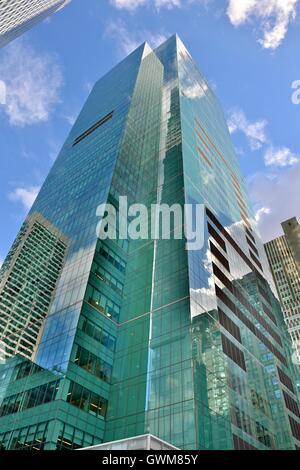 Wolkenkratzer in New York City. - Stockfoto