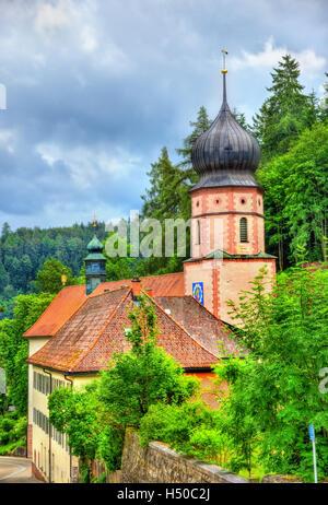 Maria in der Tanne-Kirche in der Nähe von Triberg Im Schwarzwald im Schwarzwald Deutschland - Stockfoto