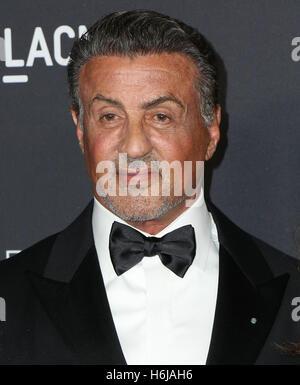 Los Angeles, Ca, USA. 29. Oktober 2016. Sylvester Stallone besucht die 2016 LACMA Kunstfilm Gala Ehren Robert Irwin - Stockfoto