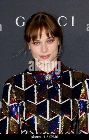 Los Angeles, CA, USA. 29. Oktober 2016. Makenzie Leigh im Ankunftsbereich für 2016 LACMA Kunstfilm Gala, Los Angeles - Stockfoto