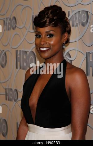Beverly Hills, CA. 8. Januar 2017. Issa Rae auf der after-Party für HBO 2017 Golden Globes After Party - 3, CIRCA - Stockfoto