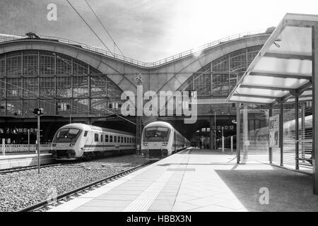 Leipziger Hauptbahnhof - Stockfoto