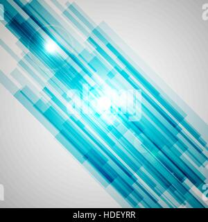 Blauen geraden abstrakten Hintergrund, Lager Vektor - Stockfoto