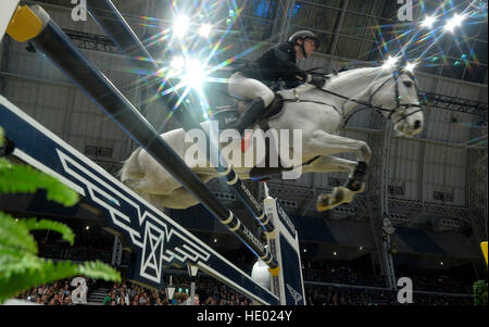 London, UK. 15. Dezember 2016. Olympia London International Horse Show in Grand Hall Olympia London, UK. 15. Dezember - Stockfoto