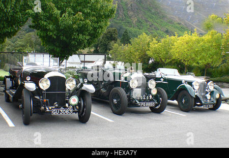 Ication (,), Bridge-Kamera, British Classic Cars, Auto-Shows, Autos, schnelle Autos, internationale Vintage-Bentley - Stockfoto