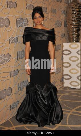 Beverly Hills, CA. 8. Januar 2017. Amara Karan auf der after-Party für HBO 2017 Golden Globes After Party, CIRCA - Stockfoto