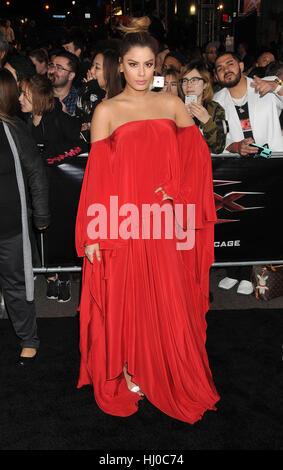 "Hollywood, USA. 19. Januar 2017. Schauspielerin Ariadna Gutierrez ""XXX - Return of Xander Cage"" Premiere bei dem - Stockfoto"