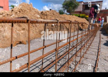 Bar Befestigung Stahlarmierung F R Beton Bodenplatte Haus