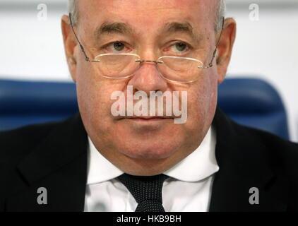 Moskau, Russland. 27. Januar 2017. Russlands Präsidenten Sonderbeauftragten für internationale kulturelle Zusammenarbeit - Stockfoto