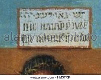 Jan Van Eyck Diptychon IHS - Stockfoto
